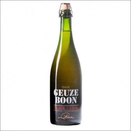OUDE GEUZE BOON BLACK LABEL 75 cl.