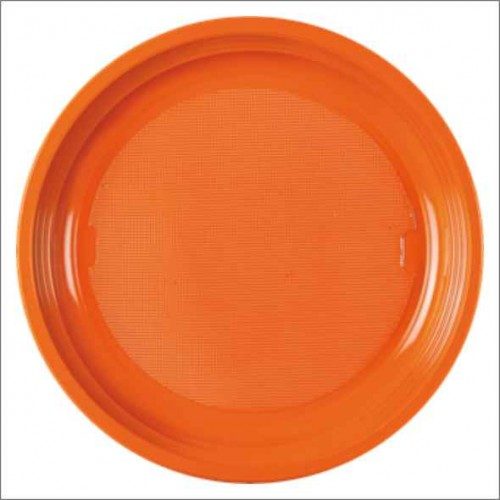 25 PIATTO DESSERT ARANCIO 170 mm