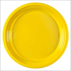25 PIATTO DESSERT GIALLO 170 mm