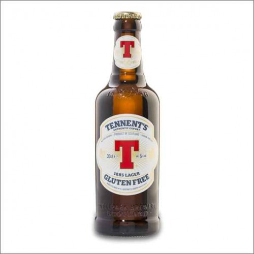 TENNENT'S 1885 LAGER GLUTEN FREE 33 cl.