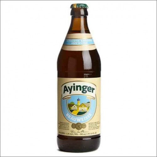 AYINGER BRAU WEISS 50 cl.