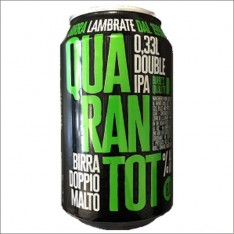 LAMBRATE QUARANTOT LATTINA 33 cl.