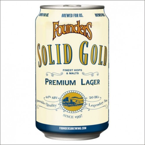 FOUNDERS SOLID GOLD 35,5 cl.