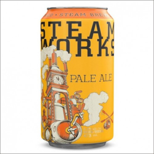 STEAM WORKS PALE ALE 35,5 cl.