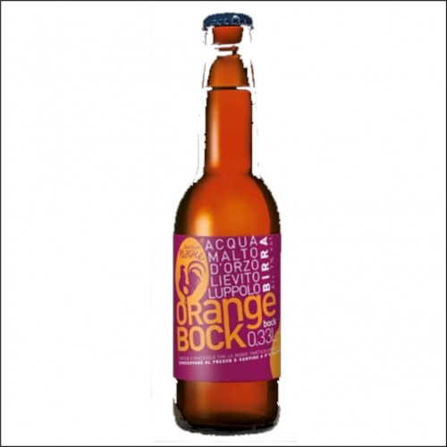 RURALE ORANGE BOCK 33 cl.