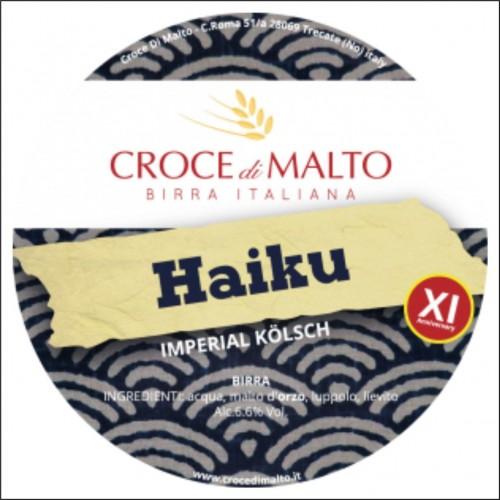 CROCE dI MALTO HAIKU 33 cl.