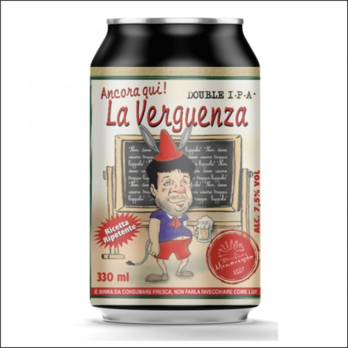 MENARESTA LA VERGUENZA latt. 33 cl.