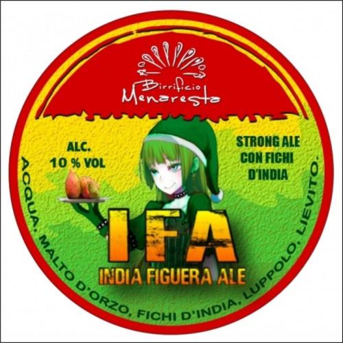MENARESTA IFA INDIAN FIGUEIRA ALE 33 cl.