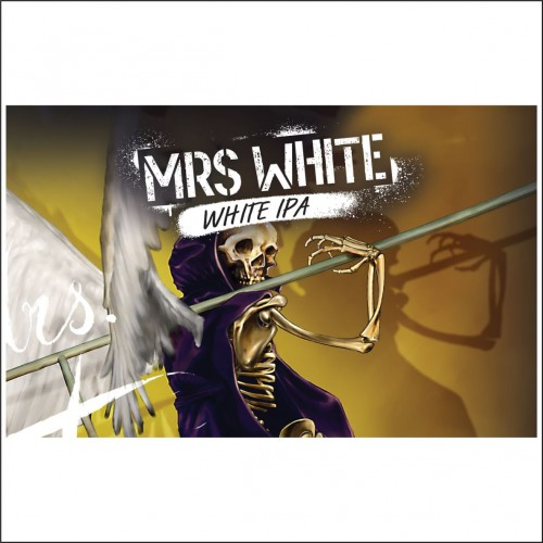 THE WALL MRS WHITE latt. 33 cl.