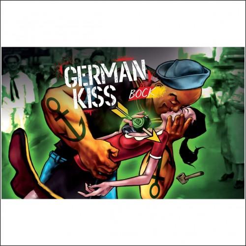 THE WALL GERMAN KISS latt. 33 cl.