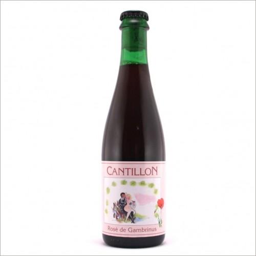CANTILLON ROSE' DE GAMBRINUS 37,5 cl.